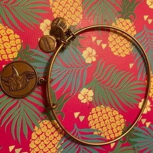Alex and Ani Viking Bracelet Gold